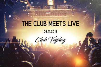The club meets live